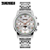 New fashion SKMEI Quartz Wristwatches Men Metal Mesh Stainle...