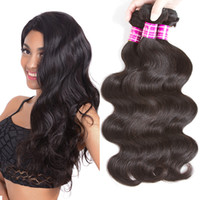 Grade 10a Brazilian Virgin Body Wave Human Hair 3 4 Bundles ...