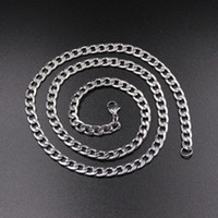Low Price Wholesale 4MM Stainless Steel NK Chain Necklace Le...