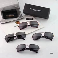 Free shipping- 8766 The new style men' s square polarized...