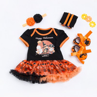 Infant Clothing Set Girls Cutest Pumpkin Outfits Baby Hallow...