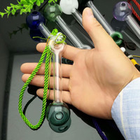 Coloured rope glass foam smoker Glass bongs Oil Burner Glass...