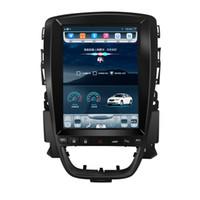 Quad-Kern Android 9,7 Zoll Vertikal Tesla-Screen-Auto-PC-Multimedia-GPS-Radio-Stereo-Audio 4G für Opel Astra J