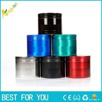 Herb & Tobacco Grinder 50mm 55mm 63mm Height 43mm 4 layers Z...