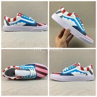 2018 New Piet Parra x Old Skool Canvas Casual Shoes Men Wome...