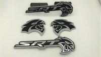 4PCS-HELLCAT-emblème badge autocollant-Decal-métal-Fit-for-Challenger