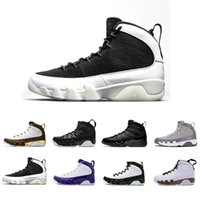 2018 Newest The Spirit high 9 Grey basketball shoes all blac...