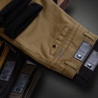 Pantaloni magri magri maschili Primavera Estate sottile Casual Casual Cotone Traspirante Vestito per il tempo libero Slim Fit Streetwear Cargo Pantaloni da lavoro