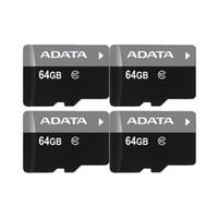 명확한 플라스틱 케이스에 ADATA 100 % 리얼 전체 용량 1백28기가바이트 64기가바이트 32기가바이트 16기가바이트 8기가바이트 4기가바이트 C10 C6 TF 플래시 고속 메모리 카드 + 무료 SD 어댑터
