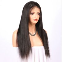 150% Density Brazilian Straight Lace Front Human Hair Wigs F...