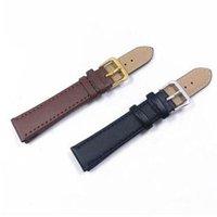 Pelle DOBROA Nuovo Black Watch cinturini Cinturino Watch Band 16 millimetri 20 millimetri pieghevoli catenaccio della Wristband Accessori Braccialetti