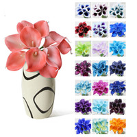 33 Colors PU Calla Lily Artificial Plants Bouquet Real Touch...