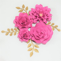 Wholesale Wedding Paper Flowers Backdrop Buy Cheap Wedding Paper