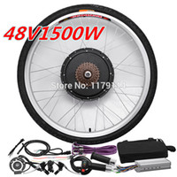 Powerful!Free shipping 48v 1500w e- bike rear kit , electric ...