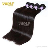 الشعر العذراء البرازيلي مستقيم ينسج 3 حزم الكثير غير المجهزة الشعر الإنسان التوالي VMAE الشعر الكمبودية العذراء التوالي