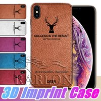 2018 New 3D Imprint Elk Case Leather Grain Embossing Case Co...