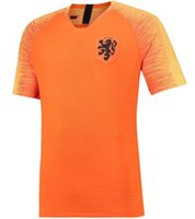 2018- 19 Nederland soccer jersey Netherlands home away orange...