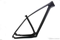 29er mountain bike UD telaio in fibra di carbonio telai per biciclette MTB passante 142 * 12mm e QR 135 * 9mm compatibile BB PF30 opaco