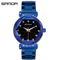 Sanda women' s watch fashion women' s personality tr...