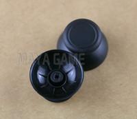أسود ثقب صغير 3D النظير thumbstick المقود قبعات الفطر للتحكم وي يو