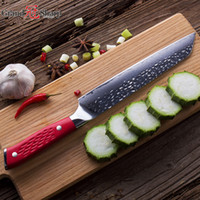 GRANDSHARP 8,5 Zoll Damaskus Kochmesser Japanisch Damaskus Edelstahl vg10 Stahl Küche Kiritsuke Messer Kochwerkzeug mit Geschenkbox