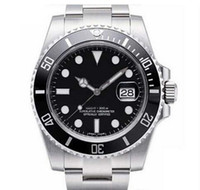 Luxury WATCHES Original Black Ceramic Bezel Dial 116610 1661...