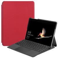 3de54a0f7c9 Business Flip Cover Leather Case for Microsoft Surface Go 10