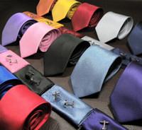 heiße Verkaufsart und weise Normallack Silk Krawatten für Mann-Krawatten dreiteilige Klage handgemachte Hochzeits-Krawatten 145cm Breite 8cm 15Colors