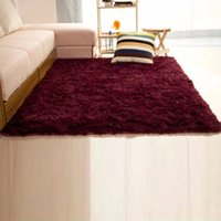 DECORAZIONE 60 * 120cm / 80 * 120cm / 120 * 160cm Soild Tappeti Camera Decorazione Zerbino moquette Tappeti caldo Colorful Living Room