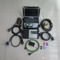 Outil de diagnostic automobile MB STAR C5 avec ordinateur portable CF19 Software 320 Go Logiciel complet prêt à l'emploi