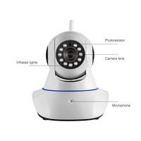 Беспроводной 1080p WiFi камеры безопасности дома IP камеры наблюдения умный PTZ-камеры WiFi с ночного видения видеонаблюдения аудио IP-камеры