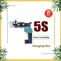 Charging Port Flex Cable For iPhone 5S Charger USB Dock Conn...