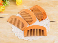 Stylish Pocket Wooden Comb Natural Super Anti- static Beard C...