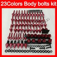 Fairing Bolts كامل برغي كيت ل Top K1200s 05 06 07 07 K1200 S K 1200 S K 1200S 2005 2007 2008 2008 الجسم المكسرات مسامير الجوز الترباس عدة 25 ألوان