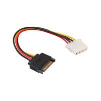 SATA 15-PIN Potenza maschile adatta per Molex IDE 4-PIN Femmina Adattatore Line gadget per PC Computer Laptop Cavo per PC