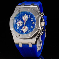 Top Luxury Brand Rubber Band Royal Oak Offshore Sports Mens ...