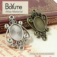 BoYuTe (50 Pieces Lot) 14*10MM Cabochon Bese Vintage Antique...