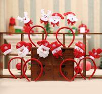 Рождественские Повязки Рождество Санта-Клаус Взрослых Детей Повязки Рождественские Украшения Партии Игрушки Новый Год Поставки Рождественские Подарки Для Детей