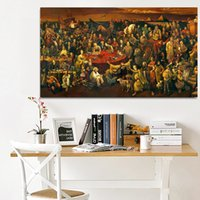 Modern abstract oil painting poster and printmaking art oil ...