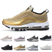 97 Running Shoes for Men 97s OG QS Metallic Gold Silver Bull...