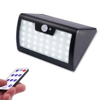 2018 New Remote Control Solar Wall Light 40LED 900lm Waterpr...