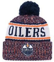 eca9458ac29e4 Top Selling Oilers Beanie Edmonton Beanies Sideline Cold Weather ...