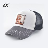 ADK Girls Boys Snapback Cotton Animals Embroidery Pattern Caps  2018 Autumn Summer Accessory Leisure Baseball Caps