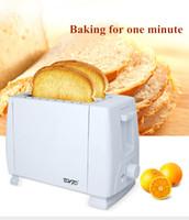 محمصة الخبز صانعي 750 واط متعدد الوظائف المنزلية التلقائي آلة شطيرة الإفطار آلة نخب آلة 2-3 قطعة فتحة الخبز