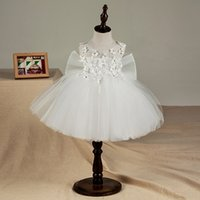 Cute 1 Year Birthday Baby Girl Dress For Baptism Floral Infa...