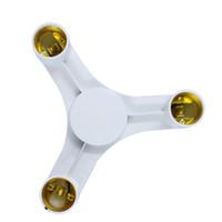 Haute Qualité Couleur Blanc 3/4/5 En 1 E27 à E27 LED Ampoules Socket Splitter Adaptateur Titulaire Pour Studio Photo