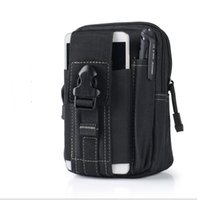 Hot Sale Universal Outdoor Tactical Holster Military Molle Hip Waist Belt Bag Wallet Pouch Purse Phone Case with Zipper for iPhone