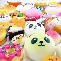 10pcs lot Kawaii Squishies Bun Toast Donut Bread for cell ph...