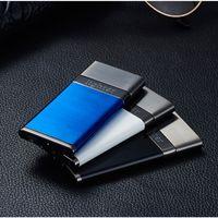 Neue winddichte elektronische wiederaufladbare USB Charge Lichtbogen Metall Plasma-Feuerzeuge Encendedor Isqueiro Zigarettenanzünder