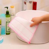 عالية الكفاءة المضادة للشحوم اللون صحن القماش الخيزران القطن الألياف غسل منشفة ماجيك تنظيف المطبخ مسح الخرق